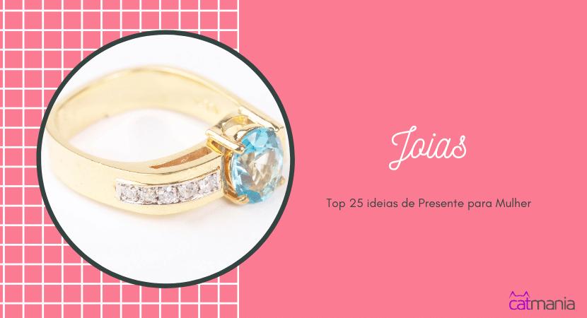 Top 25 ideias de Presente para Mulher -Joias